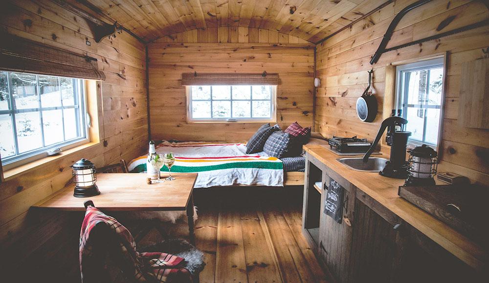 Hébergement prêt-à-camper