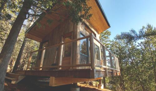 Extérieur de la cabana