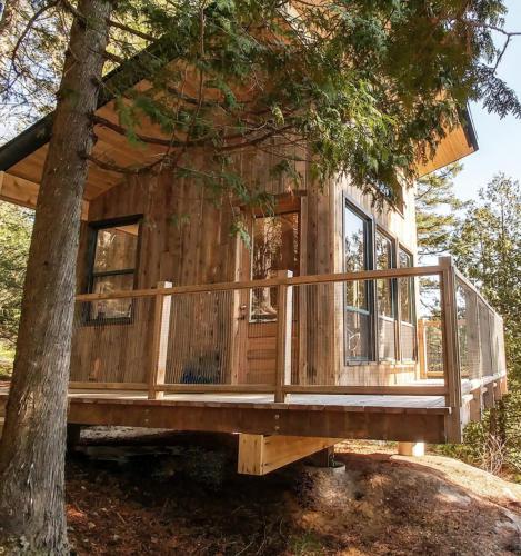 La cabana au soleil
